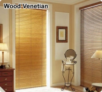Wood & PVC Venetian Blinds